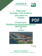 GREENDOCK Reciclaje Verde de Barcos en Puerto Armuelles Panama 2016