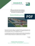 GREENDOCK Reciclaje Verde de Barcos en Posorja Ecuador 2016