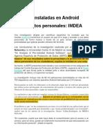 Apps preinstaladas en Android espían datos personales.docx