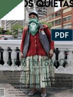 Manos Quietas primera edición Febrero 2019