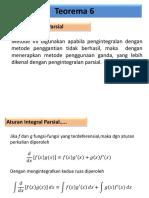 MATEK 2 - Integral Parsial