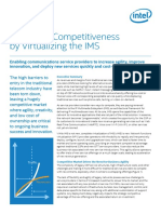 INTEL Virtualizing Ims Solution Brief