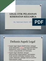 Aspek Legal Etik Yankes Keluarga