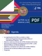 la FDA en Mexico