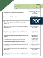 Komulatif Kontrak JRO