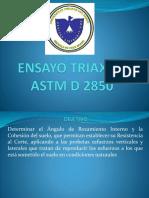 Ensayo Triaxial Exposicion