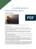 Liderança e Suicídio