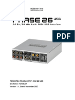 Phase 26 Usb Manual De
