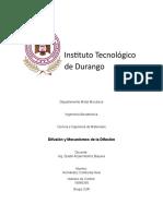 Difusión y mecanismos de la difusión