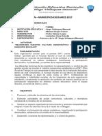 Plan Municipios Escolares