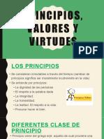 Principios, Valores y Virtudes