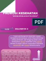 PPT Promosi  Kesehatan