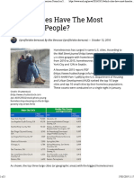 Which Cities Have the Most Homeless People- - American Council on Science and Health