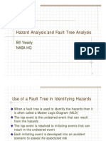 Vesely Hazard Analysis and Fault Tree Analysis