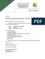 Surat Panggilan Mesyuarat PIBG