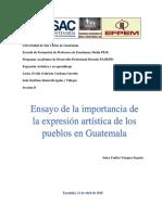 ensayo de los pueblos de guatemala en expresion artistica.docx