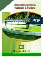 Akar Clarifier Catalogue