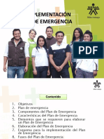 implementacion de comite de emergencias
