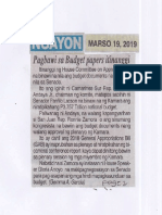 Ngayon, Mar. 19, 2019, Pagbawi sa Budget papers itinanggi.pdf