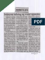 Ngayon, Mar. 19, 2019, Solusyon inilatag ng water agencies.pdf