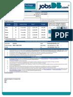 Sales Order Form 2019