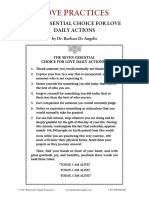 Love Practices by Dr. Barbara de Angelis