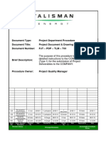 PJT-PDP-TLM-733 Project Document & Drawing Numbering