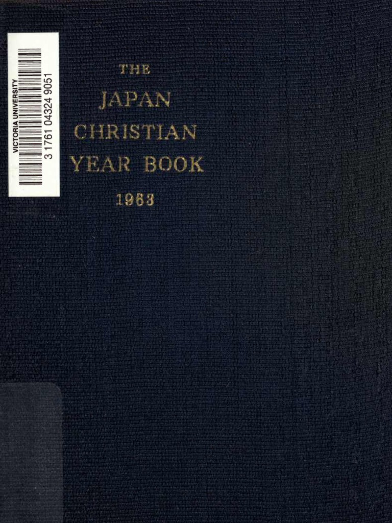 a0305dd3930 Japan Christian Year Book