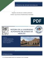 Historia UAEH