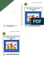 Statisitik Kecamatan Poco Ranaka Dalam Angka 2008