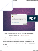 Reset Vmware License Expired