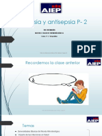Asepsia y Antisepsia P- 2
