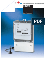 100723 Iskraemeco - Data Sheet P2LPC-Koncentrator Ang