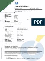 Specs 2-Methylbutyric Acid Natural Extra