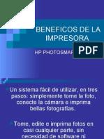BENEFICOS DE LA IMPRESORA