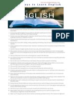 100 english
