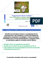 Tema 2 Unidad 1. Principios aplicados a la organización agropecuaria