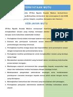 Pernyataan Mutu dan Kebijakan LPM NHM.pdf
