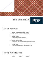 More About Thread Pertemuan 5
