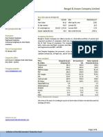 Bengal Assam Company Ltd 24 September 2012
