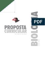 Proposta Curricular Biologia