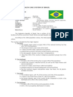 Health Care System of Brazil