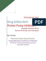 DRAP Safety Alert on Proton Pump Inhibitors
