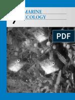 Marine science - Ecology