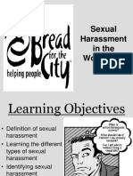 Sexual Harassment Prevention PowerPoint for Volunteers 2017