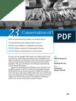 Marine science - Conservation