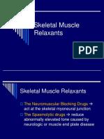 Skeletal Muscle Relaxants.rev