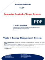 Unit 5 - Power System operation and Control