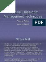 Effective Classroom Management Techniques