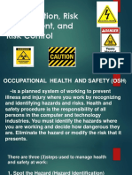 Occupational Health and Safety Gr 8